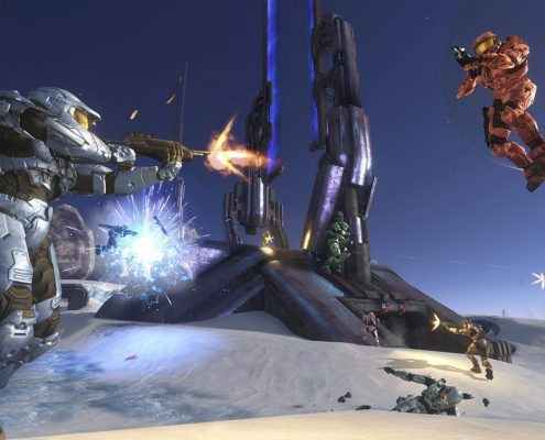 halo multiplayer party
