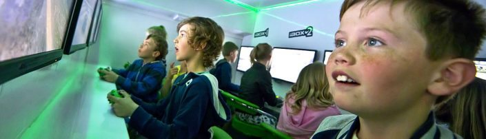 skelmersdale gaming party bus