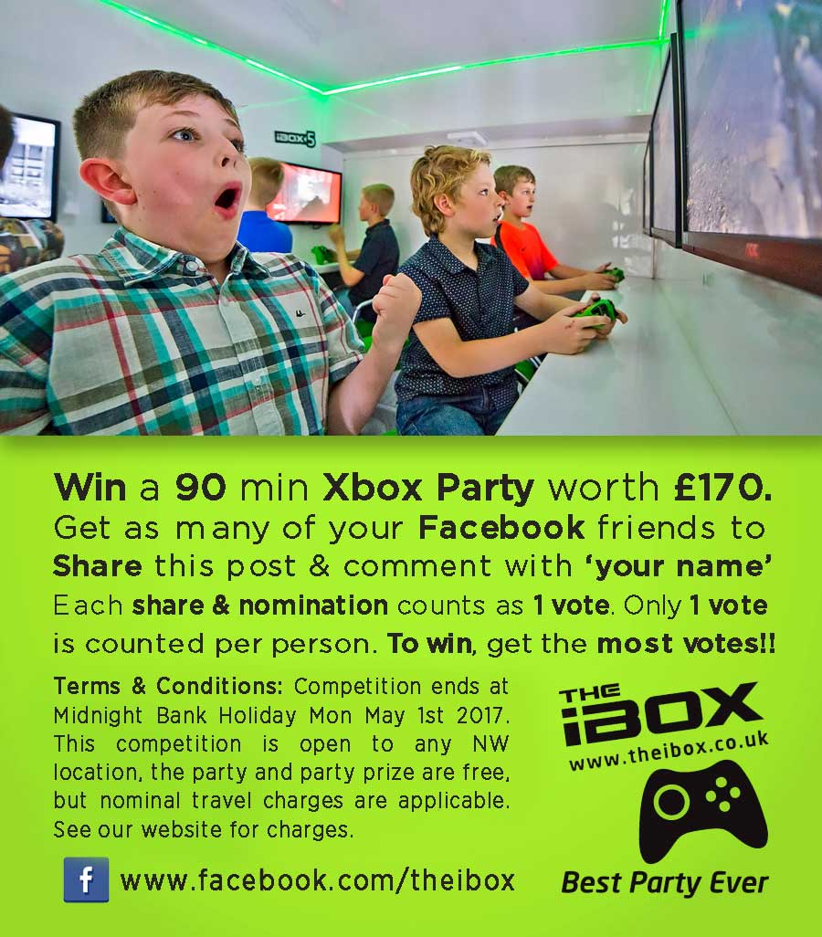 Win an iBox Party