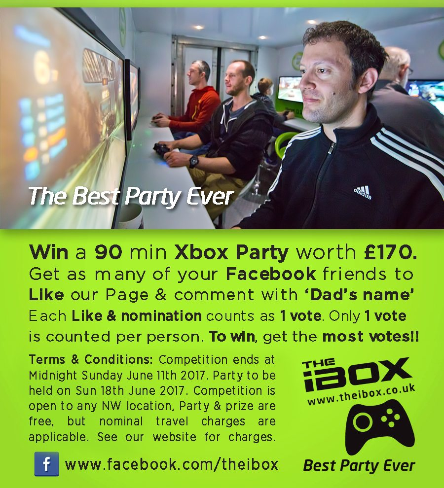 Father's Day Xbox Party Competition