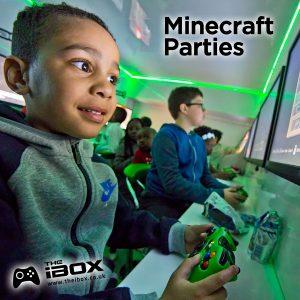 minecraft kids birthday party ideas