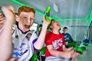 hull boys football party