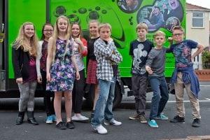pontefract xbox party bus