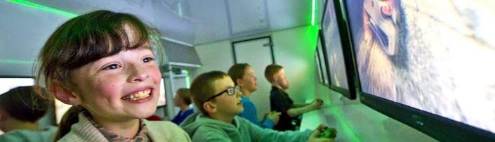sutton-in-ashfield kids party bus