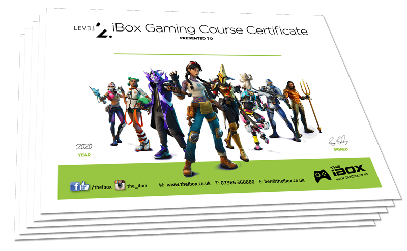 level 2 gaming certificate